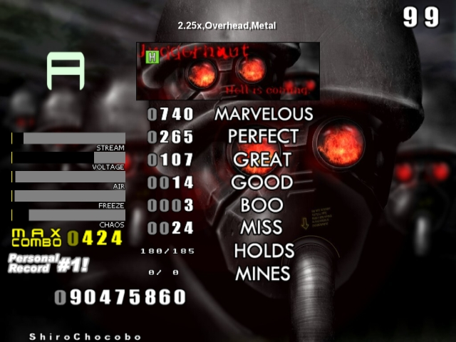 Glorious Thread of Stepmania Scores and Achievements Screen10