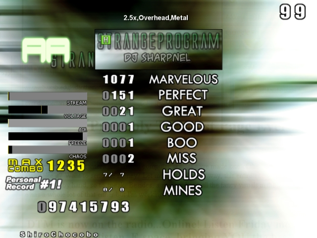 Glorious Thread of Stepmania Scores and Achievements Screen12