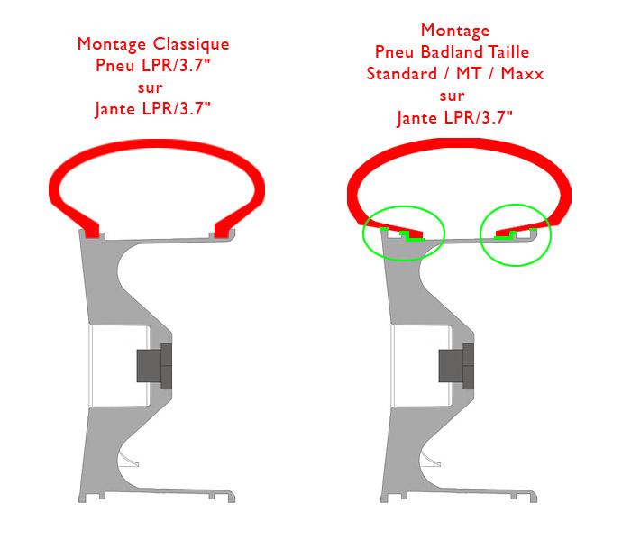 """Pneu/Pneus BadLand/BadLands MT 3.2"""" sur Jante/Jante LPR 3.7"""" - Page 2 Badlan10"""