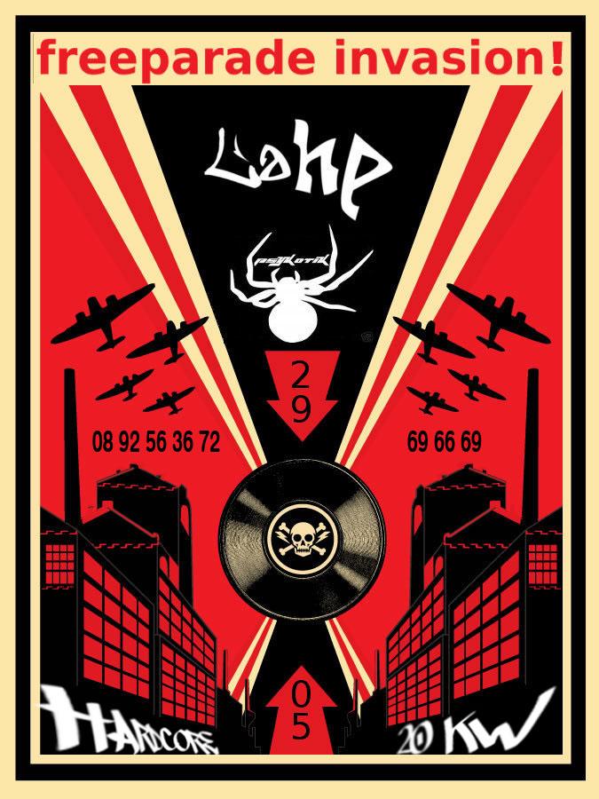 freeparade invasion !!! 29/05 LaHP PSK NSX Lahpps10