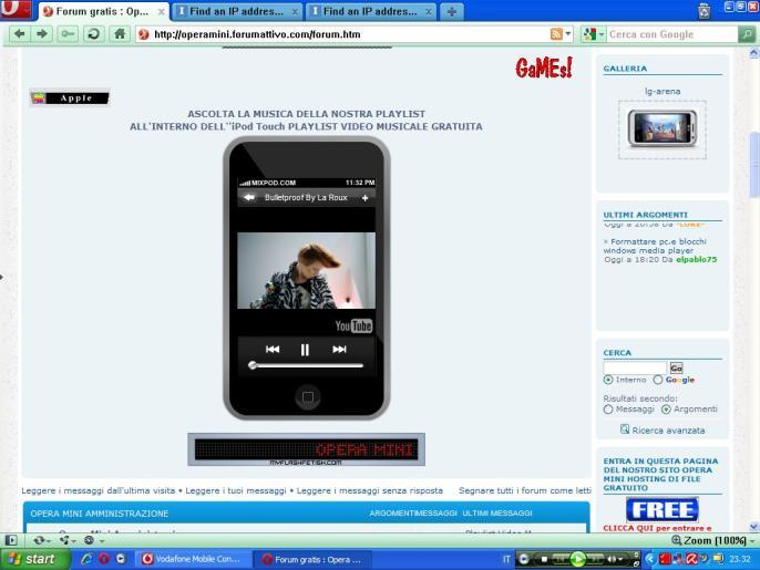 Playlist Video Musicale MyPod Touch inserita nel Portale e nel Forum Immagi12