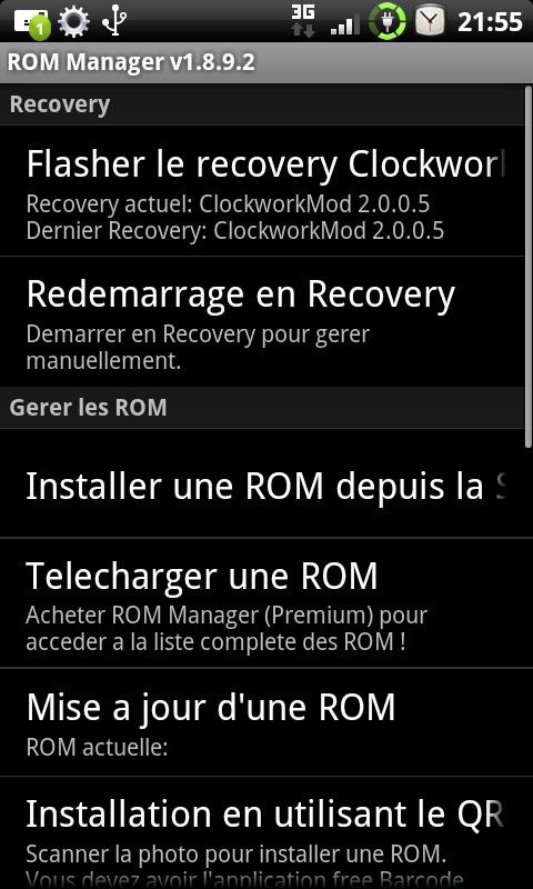 [TUTO] Accéder au recovery sur votre mobile sans PC Device10