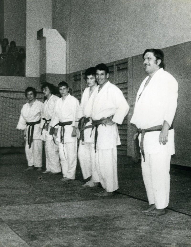 Mouzaoui Saadi (Akkar Aokas) champion de France 1975 en judo. Img69410