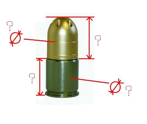 grenade pour M203 fait maison Grenad26