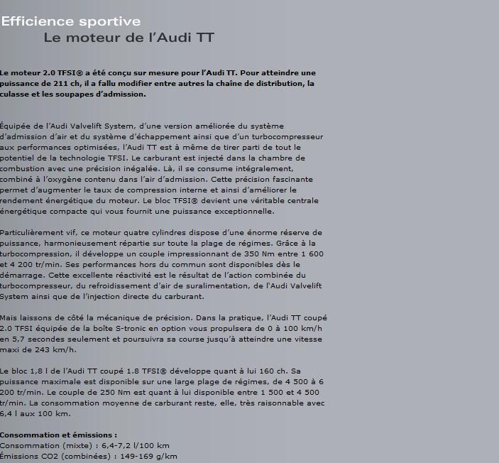 Les motorisations de l'Audi TT Sans_t26
