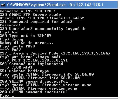 [Guida] 7170: passare da firmware 29.04.xx a 58.04.xx e viceversa Router11