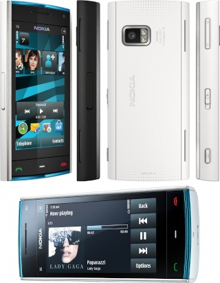 Nokia X6-00 16/32GB Player12