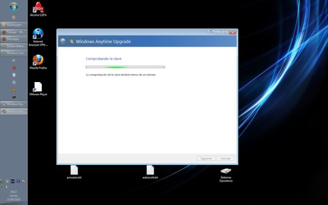 Como usar el Windows Anytime Upgrade [WINDOWS 7] 510
