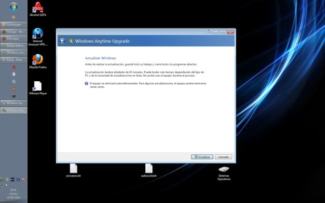 Como usar el Windows Anytime Upgrade [WINDOWS 7] 710