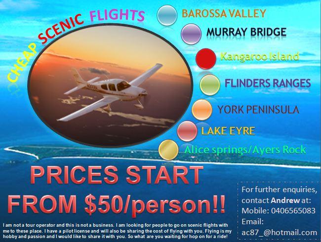 Cheap Scenic Flights! Andrew13