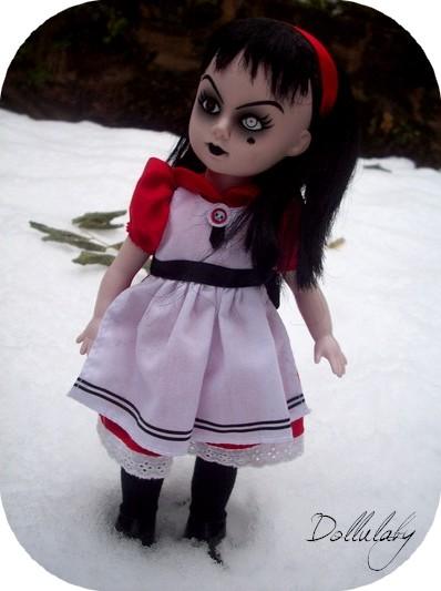 Sombre demoiselle dans la neige + Christmas time [LDD+Pullip 00114
