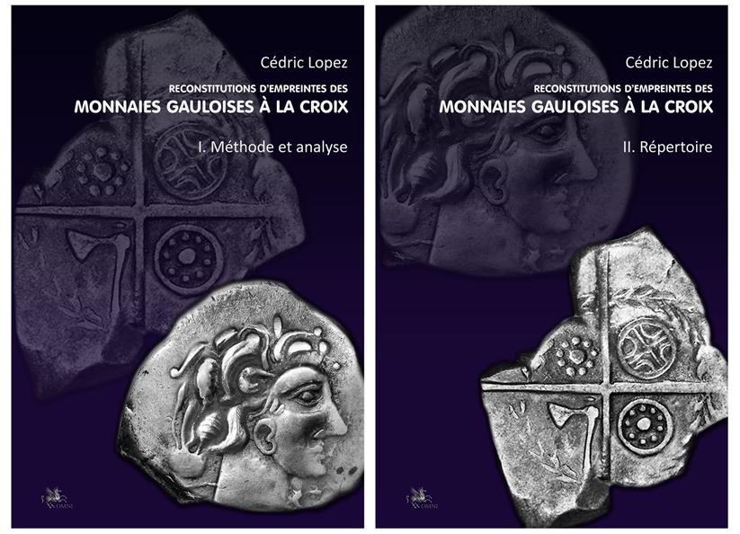NOVEDAD EDITORIAL OMNI: Reconstitutions d'empreintes des monnaies gauloises à la croix Vol1_v11