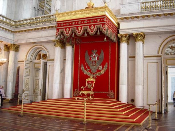 Exposition « Trônes en majesté, l'autorité et son symbole » Hermit11