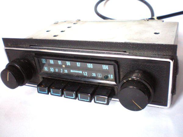 Autoradio retro' elettronica moderna!!!! Pb240011
