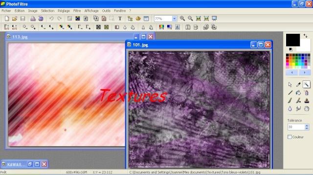 Création de graphisme Textur10