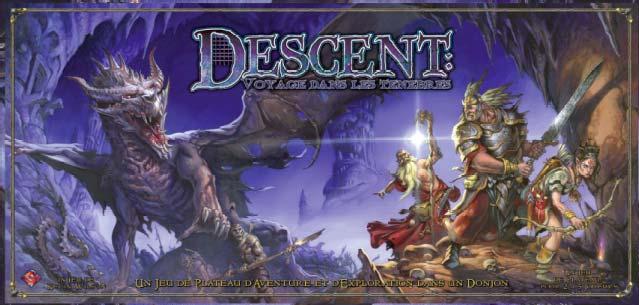 Descent : Voyage dans les ténèbres + Extension Descen10