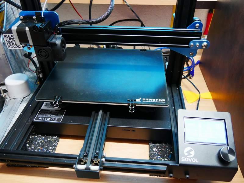 Mein 3-D Drucker  SV-01 Dr0110