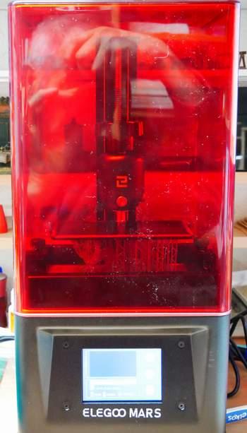 3-D SLA Drucker mit Resin  Em00110