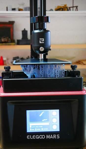 3-D SLA Drucker mit Resin  Em00210