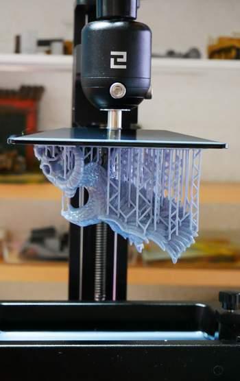 3-D SLA Drucker mit Resin  Em00310