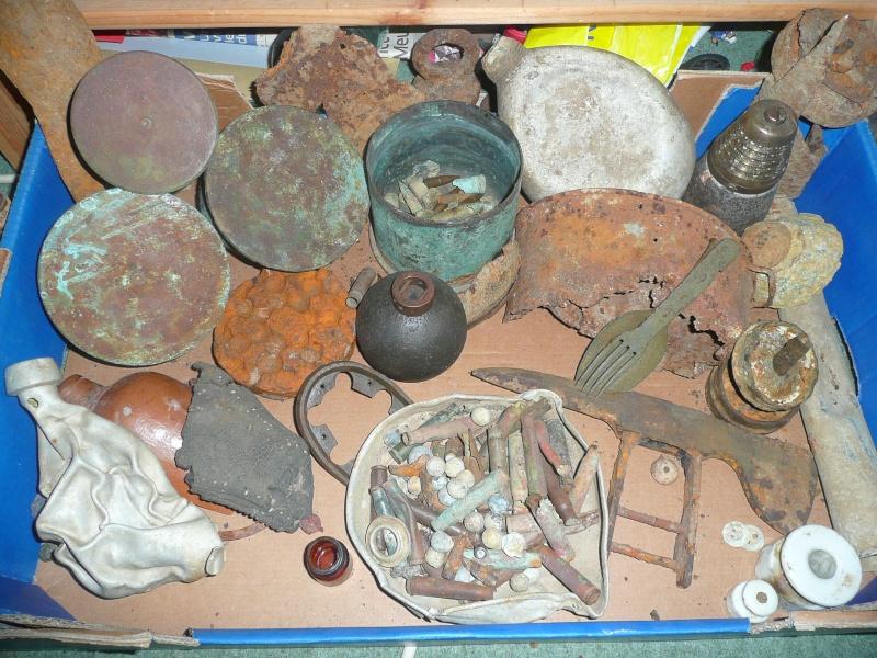 les pièces de fouilles Collec17