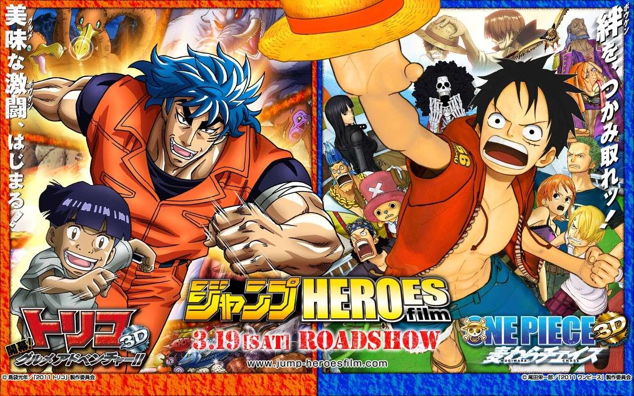 One Piece Movie 11 - Mugiwara Chase [3D] - Seite 10 Wallpa10
