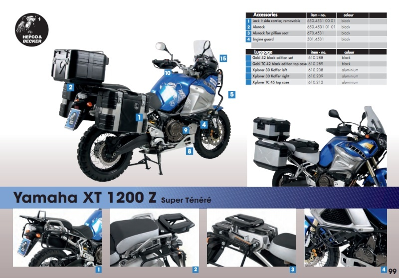 Accessoires Hepco & Becker Hb_xtz10