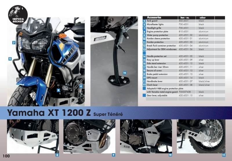 Accessoires Hepco & Becker Hb_xtz11