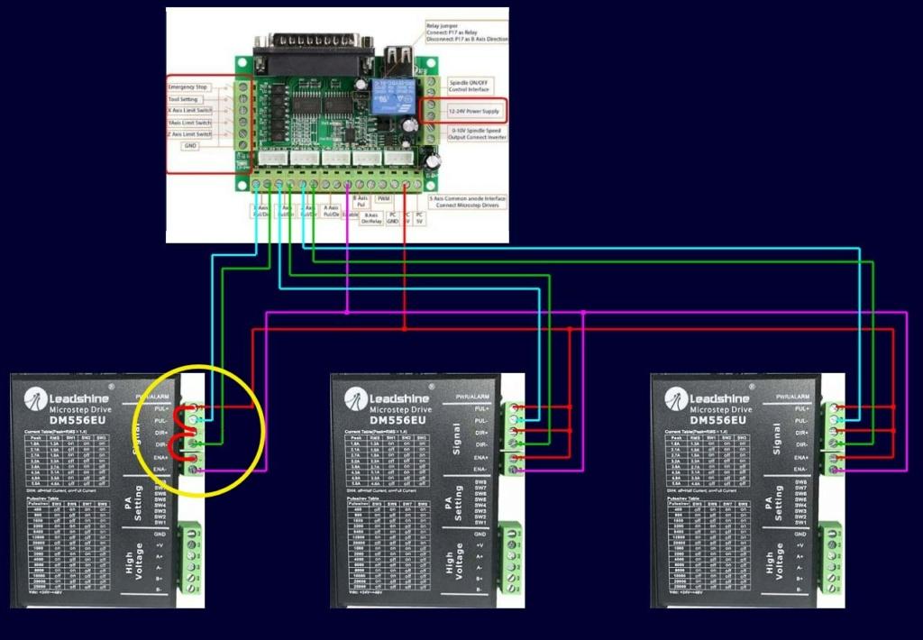 Rénovation électronique CNC ISEL ICP-4030 David_11