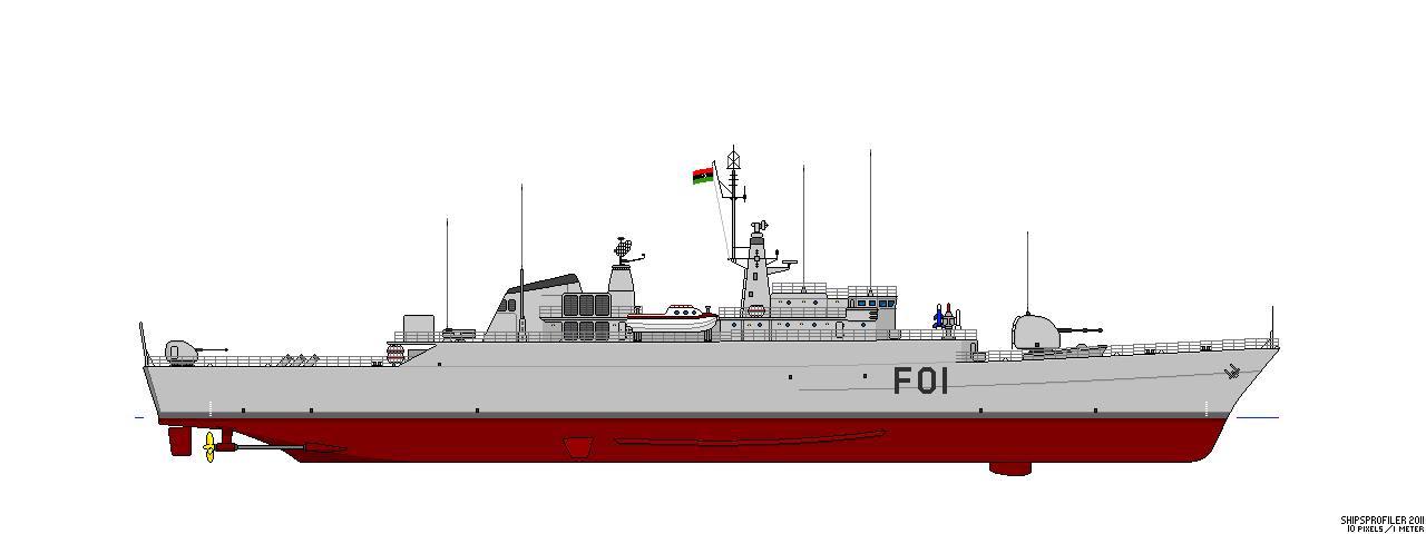 Libye - Frégate Dat Assawari Vosper10