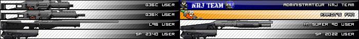 Vente M16 spr Userba11