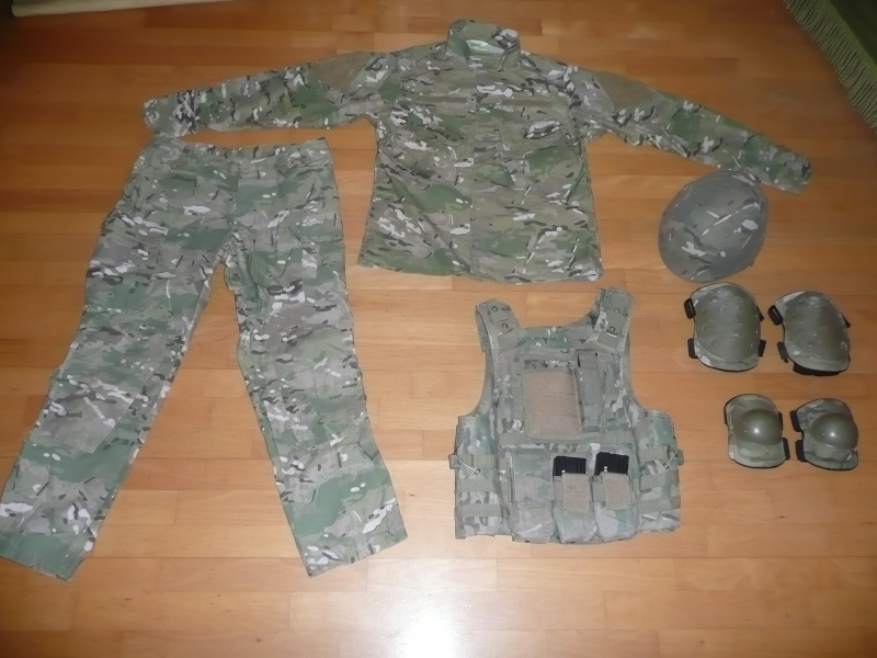 Tenue Multicam, ammobox et holster P1040011