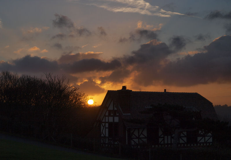 Ce matin en Normandie Lever010
