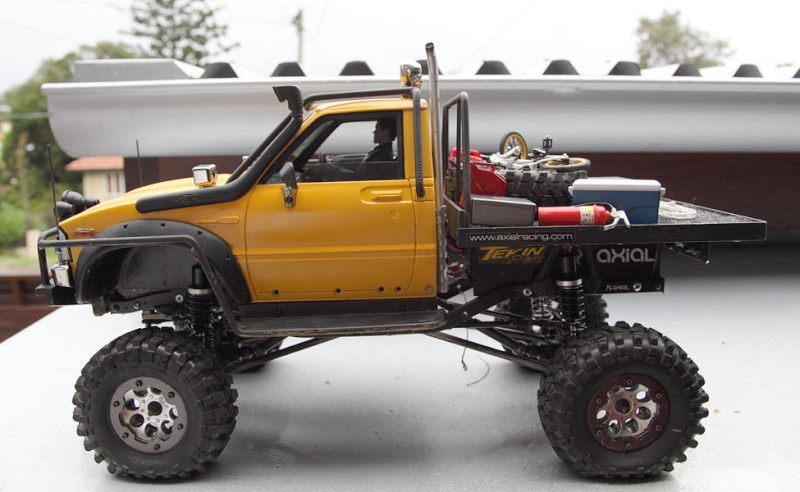 My Rig_SCX10 Honcho Chassis build Truck_13