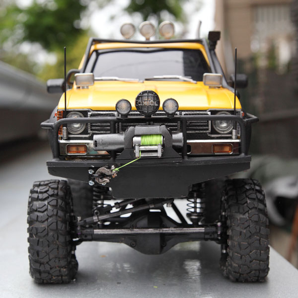 My Rig_SCX10 Honcho Chassis build Truck_14