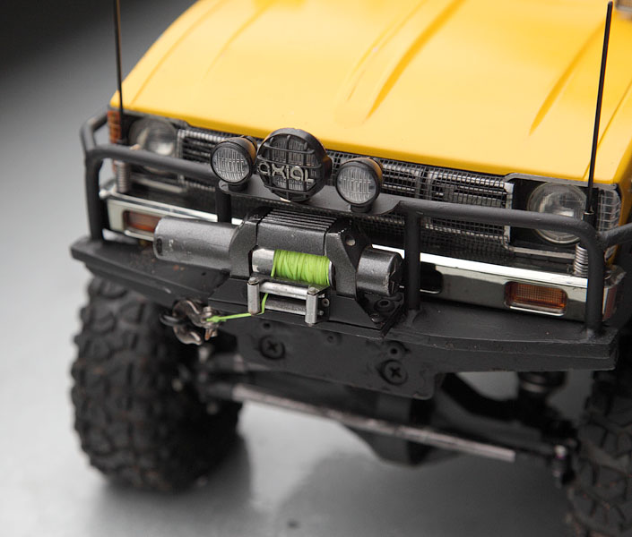 My Rig_SCX10 Honcho Chassis build Truck_16