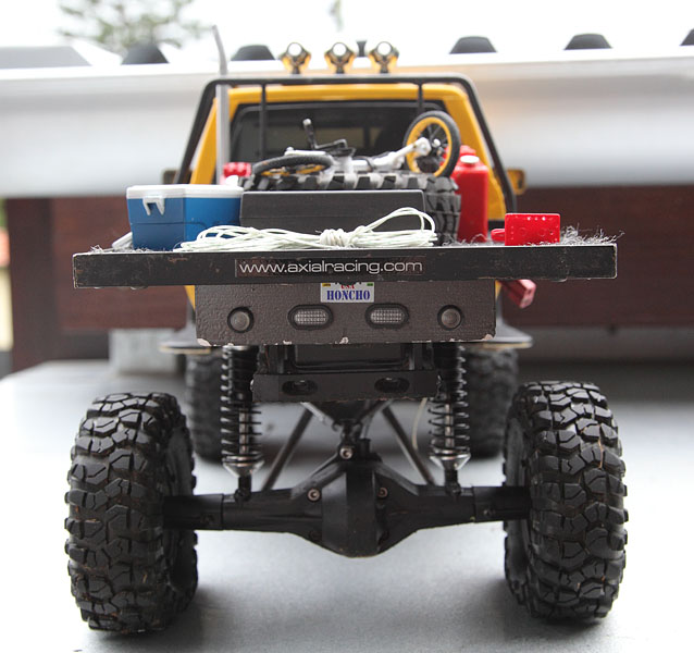 My Rig_SCX10 Honcho Chassis build Truck_18