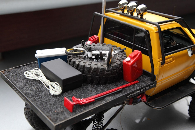 My Rig_SCX10 Honcho Chassis build Truck_19