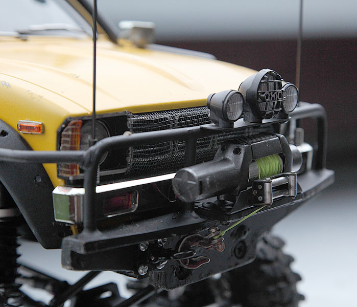 My Rig_SCX10 Honcho Chassis build Truck_24