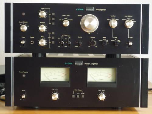SANSUI ampli BA2000 et préamp CA2000 Sansui11