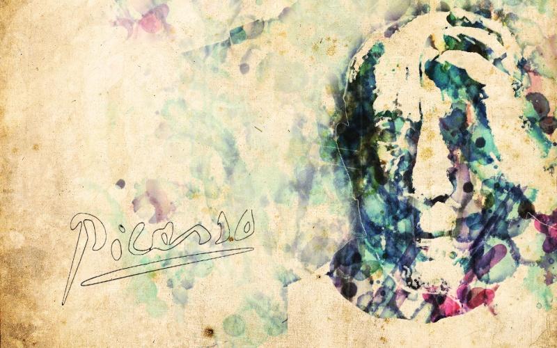 Picasso a la acuarela Picass10