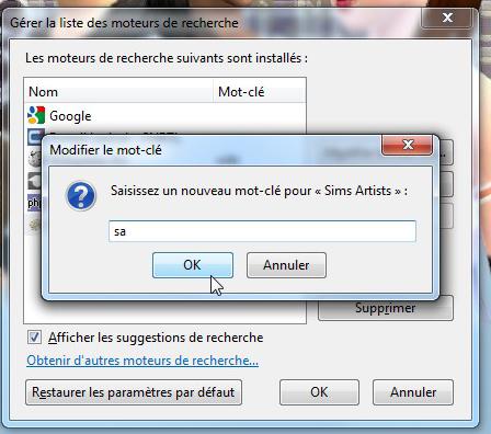 [Débutant] Mozilla Firefox - Gérer ses moteurs de recherche 510