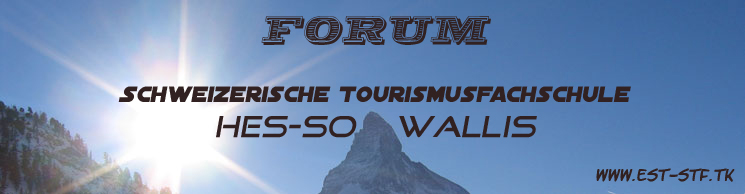 Forum HES-SO Sierre Tourism