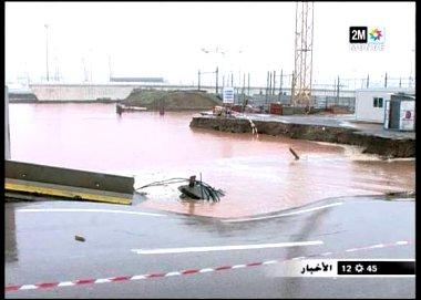 Casablanca sous le deferlement des eaux Casa10