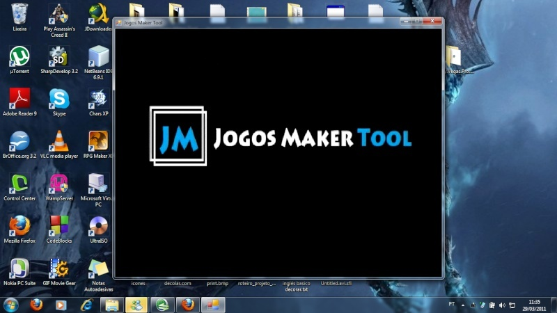 [Engine Brasileira] Jogos Maker Tool. Screen10