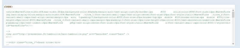 "[Toutes versions] Personnaliser les balises ""codes"" Phpbb312"