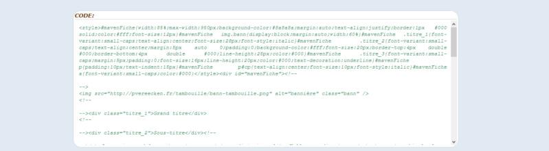 "[Toutes versions] Personnaliser les balises ""codes"" Phpbb314"