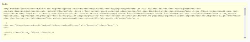 """[Toutes versions] Personnaliser les balises """"codes"""" Punbb_11"""
