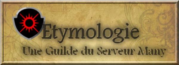 GUILDE ETYMOLOGIE