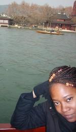 Portrait d'Afifa, une étudiante togolaise vivant en Chine depuis deux ans et demi Afifa110